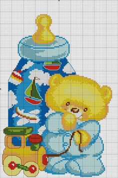 Baby Chart, Cross Stitch Pictures, Craft Patterns, Betty Boop, Cross Stitching, Cross Stitch Patterns, Disney Characters, Fictional Characters, Kids Rugs