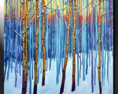 aspen trees winter snow - Yahoo Image Search Results