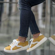 #eurekashoes #eurekalovers #madeinportugal #handmadeinportugal #handmadeshoes #instadaily #shoelover #shoeaddicts #shoegram #instafashion #picoftheday #fashionisfun #lifestyle #stylegoals #locallymade #localhandmade #sneakers #sneakersforall #yellow #white Eureka Shoes, Sneakers, Vans, Pop, Lifestyle, Yellow, Color, Fashion, Navy Blue