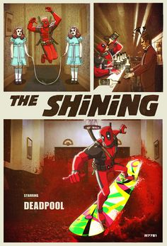 The Shining featuring  #Deadpool