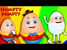 Humpty Dumpty | Nursery Rhymes for Children | Kids Songs - YouTube