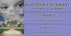 La Fenice Book: I°Tappa BlogTour+Giveaway] Destini Ingannati di Cr...