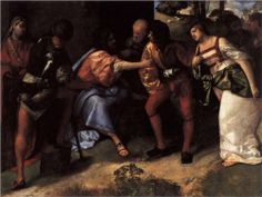 Christ and the Adulteress - Titian