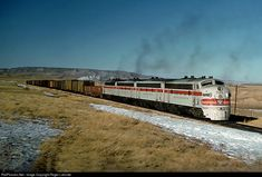RailPictures.Net Photo: FW&D 752-A Fort Worth & Denver Railway EMD F7(A) at Altus, Wyoming by Roger Lalonde