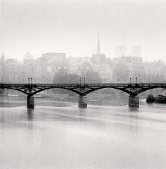 Michael Kenna, Pont Des Arts, Study 3, Paris, France, 1987