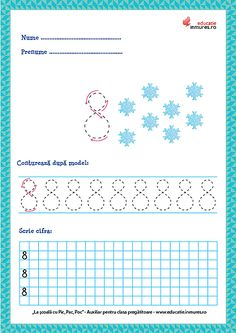 Preschool Learning Activities, Preschool Activities, Kids Learning, Numbers Preschool, Worksheets, Diagram, Teaching, Education, Math