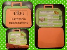 Cafeteria Expectations Craftivity FREEBIE!