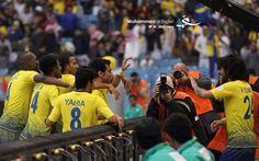 لقطة رائعة في مباراة النصر و الرائد