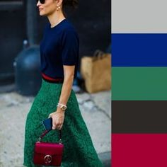 How to match colors: the complete guide Colour Combinations Fashion, Color Combinations For Clothes, Fashion Colours, Colorful Fashion, Color Combos, Color Blocking Outfits, Casual Outfits, Fashion Outfits, Fashion Tips