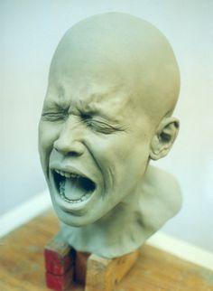 Clay Figures Sculpture, Dreamfloatingby Sculpture, Clay Head Sculpture, Clay Face Sculpture, Deviantart Explains, Amazing Sculpture, Deviations Deviantart, ...