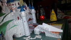 Castillo de waltdisney paris  apunto de terminarlo.