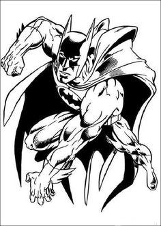 Kleurplaten Batman 60