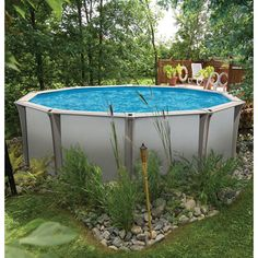 Edging around an above ground pool google search pool for Above ground pool border ideas