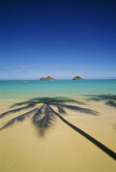 Planning to visit this gorgeous beach ~ Lanikai Beach, Hawaii