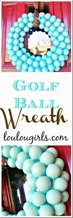 Golf Balls - Golf Ball Wreath