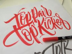 Lettering Time: Diferencia entre tipografía, lettering y caligrafía