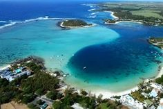 Blue Bay, home of the fantastic marine park, just 1 Km from Pointe d'esny..