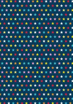 Scrapbook paper - stars on blue Cliquer sur lien au dessus de l'image pour ouvrir PDF