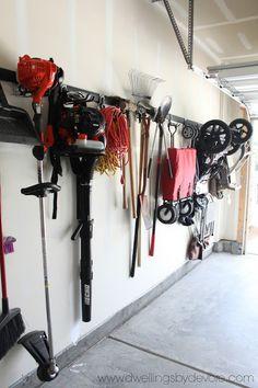 Simple Garage Organization