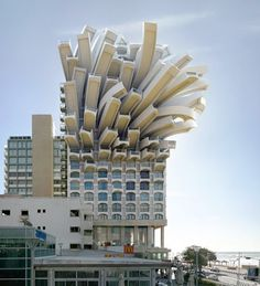 Modern Architecture by Victor Enrich...Looks like the building sneezed