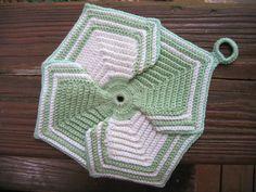 Ravelry: Petal Potholder pattern by American Thread Company