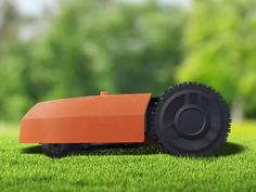 Like a Roomba for your yard, the Landroid can keep your grass trimmed autonomously. Worx Power Tools, Battle Bots, Outdoor Camera, Other Accessories, Lawn Mower, Robot, Things To Come, Yard, Housekeeping