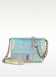 Juicy Couture Holografic Mini G Eco Leather Shoulder Bag