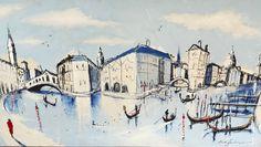 Mark Hanham Sydney established artist born in Paddington Sydney, went to National Art School and College of Fine Arts. National Art School, Fine Arts College, Fine Art Auctions, Australian Art, Magazine Art, Venice, Contemporary Art, Art Gallery, Places