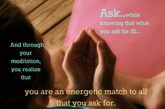 This hand position, or mudra, is part of Kundalini Yoga. For asking and receiving.