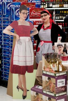 Mad Housewife Wine Tasting at Walmart in Clayton, NC.