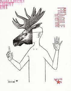 Moose Mask - Matty Cipov