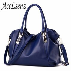 Purchase Women Handbag Female PU Leather Bags Handbags Portable Shoulder Bag from balabala shop on OpenSky. Share and compare all Shoulder Handbags Hobo Handbags, Purses And Handbags, Leather Handbags, Hobo Purses, Leather Bags, Luxury Handbags, Cheap Handbags, Cheap Bags, Handbags Online