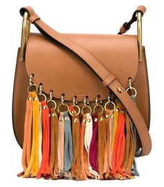 Chloe Brown 'Hudson' Tassel Bag