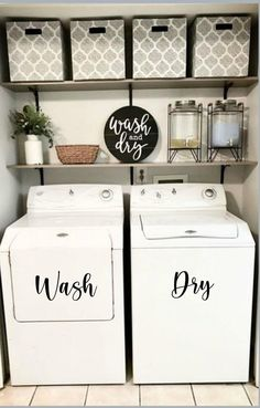Laundy Room, Room Remodeling, Room Diy, Laundry Room Inspiration, Home Remodeling, Laundry Closet Makeover, Room Makeover, Closet Makeover, Apartment Decor