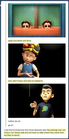 Meet the Robinsons is seriously one of the best cartoon movies ever. I wish more people appreciated it.