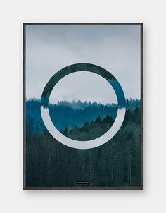 INCEPTION er en grafisk natur plakat af KASPERBENJAMIN. Du finder alle de nyeste moderne og grafiske plakater fra KUN 199DKK online hos KASPERBENJAMIN.com.