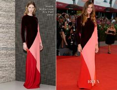 Elisa Sednaoui, is a model, actress, and director of Italian, French and Egyptian descent. wearing Stella McCartney yesterday evening, on the Red Carpet-'Under The Skin' Venice Film Festival. Samira♥