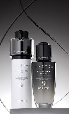 / Diseño de envase para cosméticos :: línea Renew Serum Tox / Solución