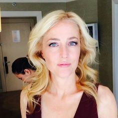 Gillian Anderson New York October 2014