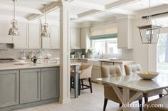 Contemporary and clean kitchen design by Tobi Fairley