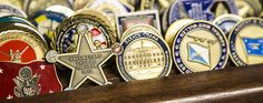 The stories behind military challenge coins