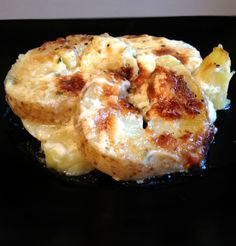 potato au gratin; gluten free Thanksgiving