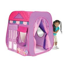 NEW Princess Party Boutique Play Hut Tent House Kids Girls Fun Indoor Outdoor Pop Up - deal stores Toys For Girls, Gifts For Girls, Kids Girls, Pink Kids, Girl Gifts, Baby Kids, Outdoor Play, Indoor Outdoor, Outdoor Toys
