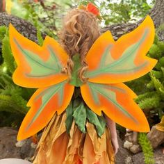 Fall Fairy Wings