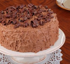 A moist and deliciousMocha Cake With Chocolate Frosting Recipe. Mocha Cake With Chocolate Frosting Recipe from Grandmothers Kitchen. Check out the website to see Sweet Recipes, Cake Recipes, Dessert Recipes, Desserts, Homemade Chocolate Frosting, Chocolate Cake, Pastel Del Barcelona, Cake Cookies, Cupcake Cakes