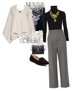 """""""wisdom"""" by vay-brown on Polyvore featuring Acne Studios, rag & bone, The Row, Abound, Balenciaga and Isotoner"""