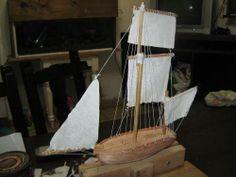 Barco Antiguo De Madera