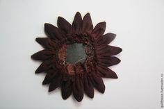 How to sew the Dahlia flower brooch. DIY Tutorial