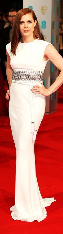Amy Adams in Lanvin at the 2015 BAFTAs