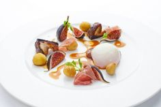 62degree egg, fig, chestnut, cep, Iberico ham - The ChefsTalk Project
